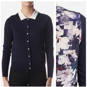 Paul Smith Silk and Wool Button Down Cardigan